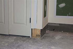 This ... & HEALTHY SAFE MOISTURE u0026 MOLD FREE BASEMENT LIVING SPACE | This Is ...