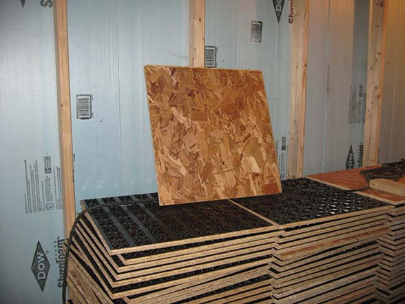 HEALTHY SAFE MOISTURE MOLD FREE BASEMENT LIVING SPACE This Is - Best material for basement floor